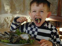 Une huître sur quatre consommée en France est originaire de Normandie. One on every 4 oysters eaten in France comes from Normandy.