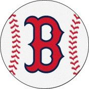 Boston Red Sox Baseball floor mat