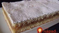 Dokonalý jablkový koláč: Tak, ako ho pripravovali naše babičky!