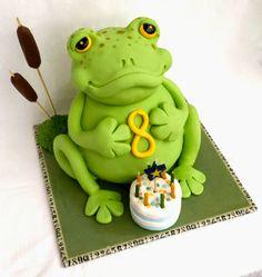 Cake Blog: Frog Cake Tutorial