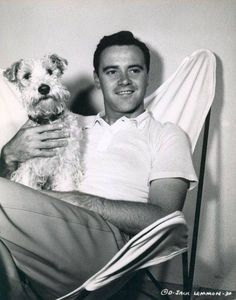 Jack Lemmon with his WFT.
