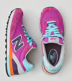 Purple New Balance Modern Classic 574 Sneaker