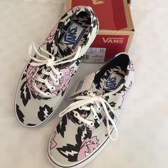 13b50a614a Flash Sale VANs Eley Kishimoto Print Sneakers very hard to find designer  Eley Kishimoto print lace