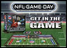 For the NFL Football man cave. When it is not Sunday try this NFL Game Day board game. It includes all 32 teams and is based upon player statistics. http://www.amazon.com/dp/B00C9KRYY4/?tag=mancavepnfl-20