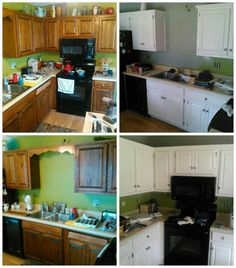 Before U0026 After Cabinets If Interested Call 256 531 2181 Located Cullman  Alabama