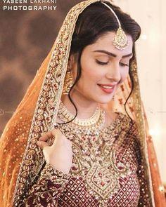Ayeza Khan in Meray Paas Tum Ho,ary paas tum ho last episode full - Desi Juta Pakistani Girl, Pakistani Bridal Dresses, Pakistani Actress, Pakistani Outfits, Indian Dresses, Ayeza Khan, Pakistan Wedding, Mehndi Dress, Bridal Makeup