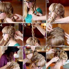 Strange Hairstyle Ideas Coiffures And Long Hair On Pinterest Short Hairstyles Gunalazisus