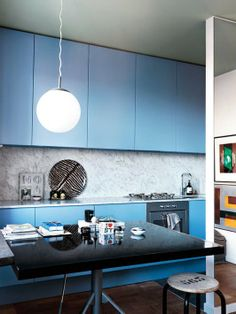 What colour kitchen cabinets would you choose?