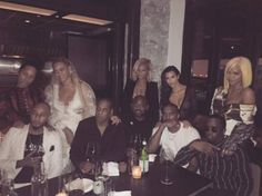 So many stars, so little time! On Sunday, after the MTV VMAs, Kim Kardashian West, Kanye West, Beyoncé, Alicia Keys, Diddy, Jay Z and others hung out at Pasquale Jones in Manhattan's Little Italy! Anyone have a guess who picked up the check?! LOLz! But this wasn't the only cool ...
