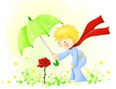Resultado de imagem para foi o tempo que dedicaste à tua rosa que a fez tão importante trecho