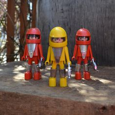 Rare Vintage Playmobile Set Astronaut Space by silkcreekgallery, $15.00