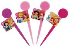 BENTO Lunch Box Tools  Disney Princess Lunch Picks (12P) LKP2LKP2  from Japan #SkaterSKATER
