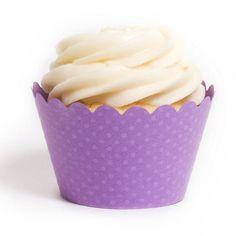 Orchid Purple Cupcake Wrapper