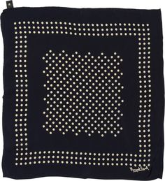 MARGARET HOWELL - TWO COLOUR SPOT SCARF - ACCESSORIES - WOMEN