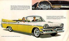1957 Dodge convertible