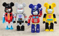 Transformers News: New Images of Kubrick Bearbrick Transformers