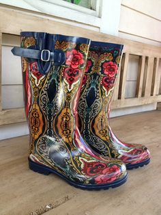 Fleurty Girl - Everything New Orleans - Midcity Rain Boots - Footwear - Footwear & Accessories Get my size, please!