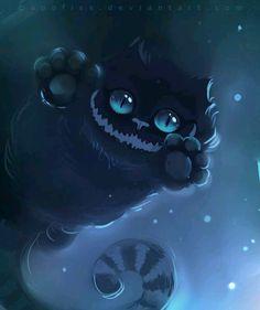 Tim Burton's Cheshire Cat <3