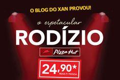 O Blog do Xan provou o Rodízio Pizza Hut e deu sua avaliação. http://www.blogdoxan.com.br/onde-comer/provamos-o-rodizio-da-pizza-hut-em-sao-paulo/