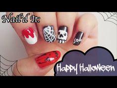 Halloween Nail Art Tutorial (Nail'd It!)