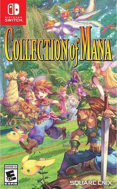 Experience Trials of Mana (Originally released as Seiken Densetsu 3 in Japan), localized for the first time in the West All 3 games now include a convenient quick save feature Adventure with friends utilizing a local multiplayer mode Nintendo 3ds, Nintendo Switch Games, Super Nintendo, Game Boy, Ff Game, The Legend Of Zelda, High Fantasy, Fantasy Series, Digimon