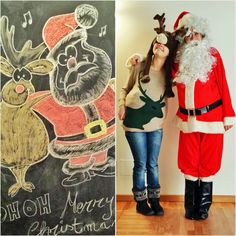Trova le differenze!!! Festa di Natale per bambini da 0 a 10 anni, armonia seregno via volta 18. Musica, creatività, merenda e babbo natale in persona... Con le sue renne!! Party, Lab, Musica