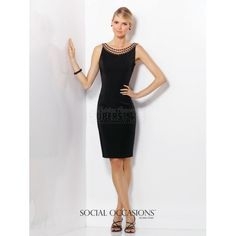 Social Occasions by Mon Cheri Mother of the Bride Dress 116833