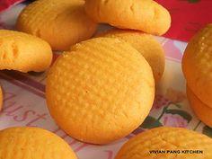 Custard Peanut Cookies