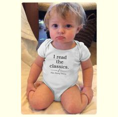 For your little reader. Made to order on a professionally printed baby bodysuit or toddler t shirt using a print on demand service. Please allow