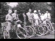Bicycle Riders in 1925