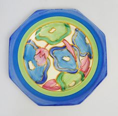 Clarice Cliff plate from Time Antiques