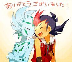 Yu-Gi-Oh Zexal - astral and Yuma