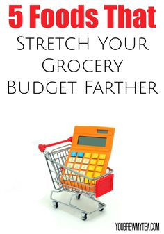 When you live paycheck to paycheck, these 5 Foods That Stretch Your Grocery Budget Farther are great choices! Add to your menu plan and put the savings back for the holidays, debt or other budget needs! budgeting budget tips Save Money On Groceries, Ways To Save Money, Money Tips, Money Saving Tips, Earn Money, Money Hacks, Money Box, Living On A Budget, Frugal Living Tips