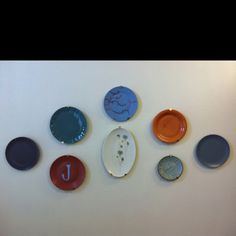 Plates in the kitchen