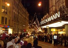 Lucia Parade. The Saint Lucia Day Parade in Helsinki is an adoption of a Swedish pagan fertility celebration mixed with a Christian saint day.