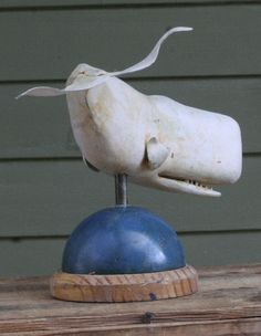 White Sperm Whale by 50littlebirds on Etsy