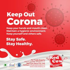Check all healthy, tasty as well as fresh milk, milk products, dairy foods & beverages from Red Cow Dairy. Fresh Milk, No Dairy Recipes, Stay Safe, How To Stay Healthy, Cow, Beverages, Prayers, Death, India