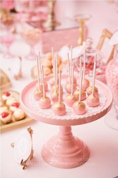 Little Big Company | The Blog: Amazing 50th Birthday, pink and gold theme