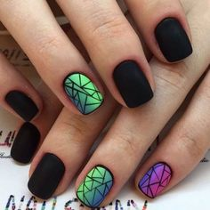 Winter nail designs allow you to show off all those cute wintry themes at parties and nights out.  width=