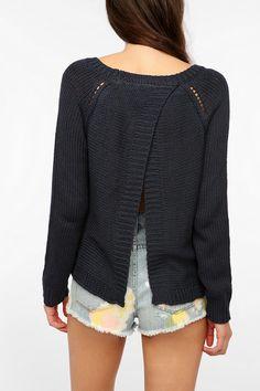 Bb Dakota Wilmet Open-back Sweater