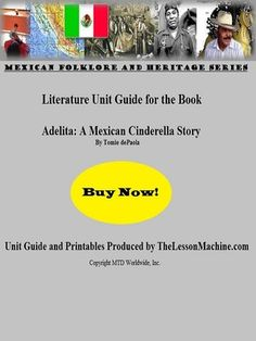 Developed to support the classroom use of Adelita: A Mexican Cinderella Story, by Tomie dePaola, this literature and study guide provides the with all of the necessary support materials to incorporate spelling and comprehension and more. Puzzles And Answers, Word Puzzles, Unit Plan, Vocabulary, The Book, Keys, Literature, Cinderella Theme, Classroom Teacher