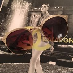 Gold rimmed sunglasses Super cute, worn once. Gold rimmed sunglasses! Urban Outfitters Accessories Sunglasses