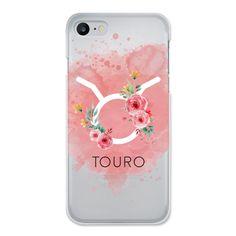 Case transparente Roses Of Zodiac | Signo de Touro de @cafecomastrologia |     #Iphone #astrologia #signos #rosas #flores