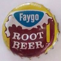 Faygo Root Beer, bottle cap | Faygo Beverage Bottle Co., Detroit, Michigan USA