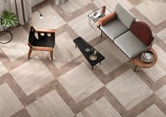 """References to the post-industrial appearance of metropolitan landscapes can be found in the new Brik line by Ceramiche Keope, a modern and fascinating collection of porcelain stoneware wall and floor tiles, characterised by the typical 7.5x30 cm """"brick"""" size."""