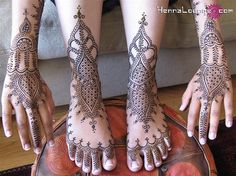 Henna Feet  Hands by HennaLounge.com