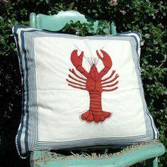 Lobster Porch Pillow I