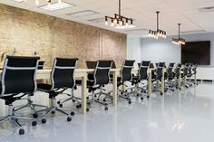 Is this table long enough for you? The longer the table, the more collaboration, right?