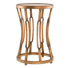 'Hourglass' Metal End Table $110