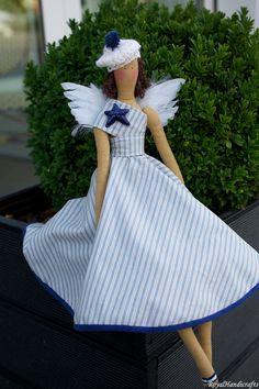 Tilda Angel Doll Princess Vintage Handicrafts by RoyalHandicrafts